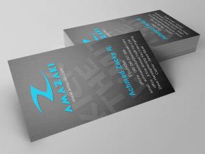 Kartu Nama Brand Amazaki