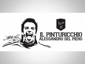 Stiker Del Piero
